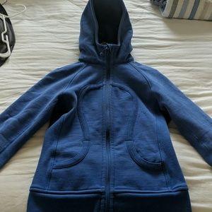 Lululemon, size 6, scuba hoodie
